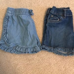 💙 Carters 2 pack shorts 💙